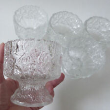 Bowl Clear Vintage Original Glassware