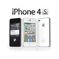 iPhone 4S déverrouiller 16GO Smartphone débloqué (blanc/Noir)