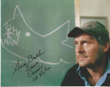 Jaws Chrissie autographed 8x10 photo with Robert Shaw Jaws 1st Victim added
