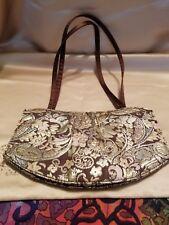 Victoria Secrets Tapestry Small Light Purse in Brown 304fe46d9b6b0