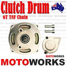 6T T8F Chain Clutch Drum Bell Housing Mini ATV QUAD Pocket Bike Dirt PIT Kids
