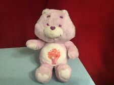 "Vintage 1984 Kenner Original Care Bears SHARE BEAR 13"" Stuffed Plush Toy -No tag"