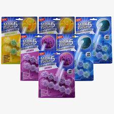 Max CHASSE 5 toilette Rim Block Nettoyeur Mixte Lot de 6 (Twin Pack)