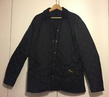 Barbour Heritage Mens Liddesdale Quilted Jacket - Black, size L