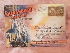 Shenandoah Caverns - Virginia - Vintage Accordion-Style Picture Postcard