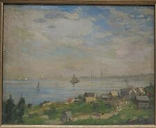 Lillian Genth 1910 Gloucester MA painting Whistler pupil Good Harbor Beach