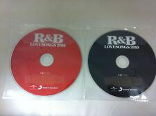 r&b LOVESONGS Various Artists 2 Disco Música CD 2010 Love Songs solo MANGA
