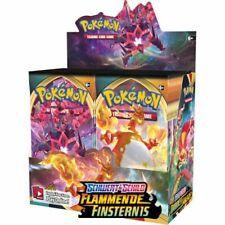 Pokemon Flammende Finsternis 36 Booster Display in deutsch NEU OVP
