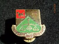 Vintage US Army 175th Military Police MP Battalion Crest DI DUI Insignia Device