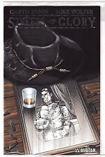 STREETS OF GLORY #2 NM Platinum Foil Warren Ellis! Avatar Press 1 of 750 copies