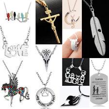 Fashion Chain Necklace Pendant Jewelry Charm Women Men Statement Choker Gifts