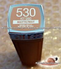 Maybelline Color Sensational Lipcolour Lipstick - 530 Hot Sand (Matte Nudes)