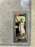 2003 TOPPS M3 LEBRON JAMES MATRIX MINI ROOKIE # 111 SP GREEN CLEVELAND CAVALIERS