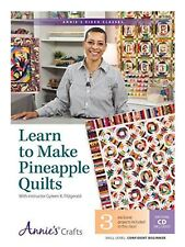 LEARN TO MAKE PINEAPPLE QUILTS WITH INTERACTIVE CLASS DVD: By Gyleen Mint