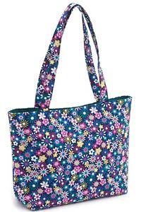 SHOULDER TOTE BAG 'Flowers a Plenty Design CRAFTS, KNITTING & MORE