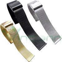 Cinturino 24mm bracciale acciaio maglia milanese per Sony SmartWatch 2 SW2 CM4C