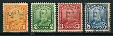 CANADA OLD STAMPS 1928 - 1929 - King George V - USED plus UNUSED