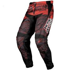 NOS MSR 334144 M12 METAL MULISHA MAIMED PANTS BLACK RED SIZE YOUTH 18