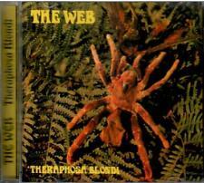 THE WEB - THERAPHOSA BLONDI 70 PROG HORN FLUTE JAZZ ROCK prod by MIKE VERNON CD