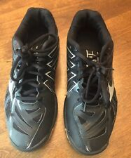 Mizuno Wave Lightning RX3 Womens 8 W Black Silver Volleyball Athletic Shoes