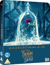 Beauty and the Beast - Zavvi Limited Edition Steelbook (Blu-ray 2D/3D, 2017)