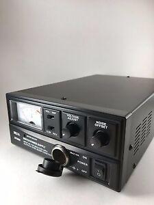DELTA DPS60M 60 Amp 12v AC/DC Power Supply w/ Volt AMP Meter Ham CB Radio