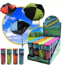 Kids Children Tangle Free Parachute Skydiver Outdoor Funny Toy Gift Party Bag