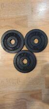 2 1/2 Vintage BFCO (7 1/2 Pound total) Standard Weight 3 plates