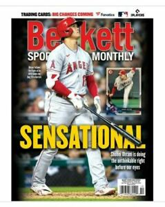 New October 2021 Beckett Sports Card Monthly Price Guide Magazine, Shohei Ohtani