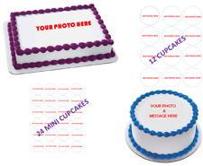 CUSTOM ORDERS: Personalized edible cake images