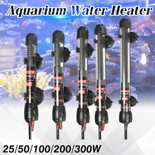 25W - 300W Aquarium Fish Tank Automatic Water Thermostat Heater with Sucker Cups