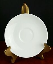 "saucer Wedgwood bone china England white 5.75"" tea"
