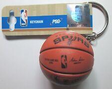 NBA NEW 2016 San Antonio Spurs Spalding Basketball Key Chain