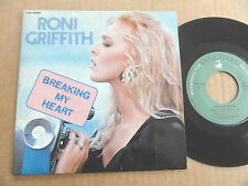 "DISQUE 45T DE RONI GRIFFITH  "" BREAKING MY HEART """