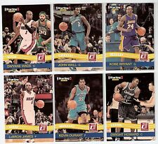 2010-11 Panini Donruss Starting Five 6 Card Set NBA James Bryant Durant Howard