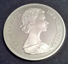More details for great britain 1953 elizabeth ii unofficial pattern double florin sterling silver