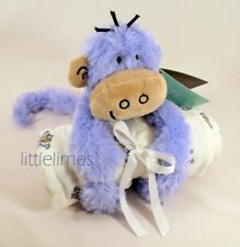 NEW Soft Toy Monkey with Swaddle (Aden+Anais Brand) Great Complete Gift