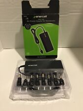 Enercell 2730746 19VDC 90W Universal AC Power Supply Notebook w/ 8 Tips & Manual