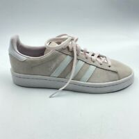 Adidas Originals Womens Campus W Sneakers Pink Lace Up CQ2106 5.5 EUR 36.5 New