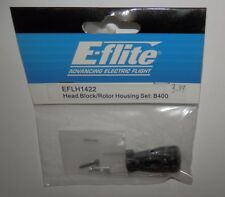 E-Flite Head Block/Rotor Housing Set - B400 #EFLH1422 NIP