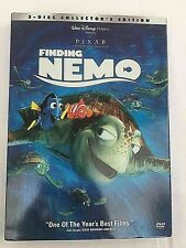 Disney Pixar Finding Nemo Dvd 2-Disc Set Collectors Edition - Children's Movie
