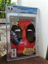 Marvel Spotlight: Deadpool 1 #NN Pete Woods Variant CGC 9.0 1260760016
