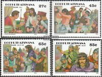 Bophuthatswana 277-280 (kompl.Ausg.) postfrisch 1992 Ostern