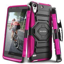 HTC Desire 530 Case, Evocel Rugged Holster w/ Kickstand & Belt Clip (555 / 650)