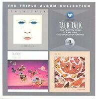 TALK TALK - TRIPLE ALBUM COLLECTION [CD]