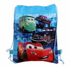 Disney Cars McQueen Cartoon Drawstring Backpack Kids Drawstring School Bag C2#