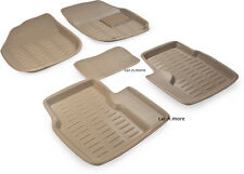 Beige Colour-3D Car Floor Mat/Folded Mats Perfect Fit- Suzuki New Swift Dzire.