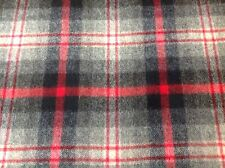 Ralph Lauren Wool Upholstery Fabric Bridle Trail Plaid Campfire 5.2 yd LFY66963F