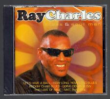 RAY CHARLES CD ALBUM BLUES & SOUL MAN S/S