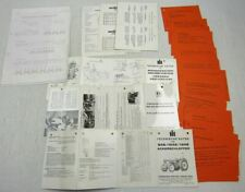 IHC 724 221 321 431 531 4 B-45 B-46 422 430 440 Technische Daten Faltblätter